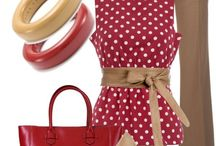Outfit rojo