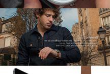 Montre connectée / La montre Nevo Balade Parisienne combine la beauté de l'analogique avec les dernières avancées technologiques pour produire une belle gamme de smartwatches  #emie #smartwaches #objetconnecte #artconnect #design Découvrir la gamme: http://www.artconnect.fr/fr-fr/objets-connectes/produits/montre-connectee/montre-connectee-nevo-balade-parisienne.html