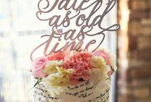 Fairy tale storybook wedding cakes
