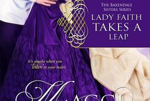 New Regency Series - The Baxendale Sisters / REGENCY SERIES  The Baxendale Sisters: Lady Honor's Debt Book One Lady Faith Takes a Leap Book Two Lady Hope and the the Duke of Darkness Book Three The Seduction of Lady Charity