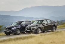 Comparative review of the Mercedes GLE 350 d Coupe vs BMW X6 40d