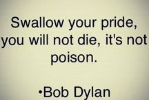BOB DYLAN'S QUOTES