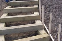 External steps & ramps