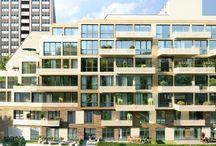 Gartenhaus in Berlin-Friedrichshain / Mitten in Friedrichshain, das für sein außergewöhnliches Nachtleben und kulturelles Angebot bekannt ist, entsteht in ruhiger und dennoch zentraler Lage ein Neubau mit 58 Eigentumswohnungen. Mehr unter: www.gartenhaus-berlin.com