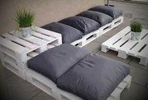 sofa varanda palet