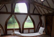 Hammock for the interior / Beautiful Oak Hammocks