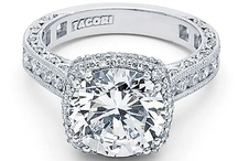 Engagement Ring Bling / Engagement Rings and Wedding Bands