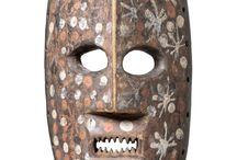 Ituri masks. D.R.Congo