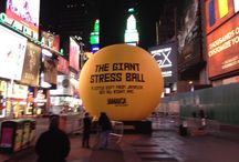 #GiantStressBall in Times Square / The Jamaica Tourist Board (JTB) will be in Times Square with what might be the world's largest Jamaica stress ball ready to be squeezed. On Tuesday, November 12, between 7:00 a.m. – 7:00 p.m., commuters can squeeze the ball to de-stress and also enter to win one of 12 prize trip vacations over the 12 hour event. Also, VP Records will be playing music all day with a special performance by Jamaican reggae artist, Gyptian.   / by Jamaica Tourist Board