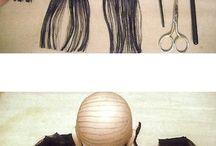 pelucas para muñecas