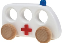 Children's Toys I love / A collection of lots of different toys that allow children to use their imaginations
