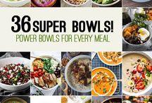 Meals: Buddha Bowls