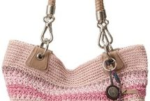 crochetted bags