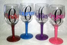 wine glasses and mugs