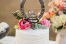 Wedding cake for shoot