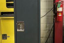 Vancouver PD - Vancouver, WA #DeBourgh #Lockers / #Corregidoor #StormGray #SentryThreeLatch #LouveredVentilation #PainoHinge #StormGray #DeBourgh #Lockers