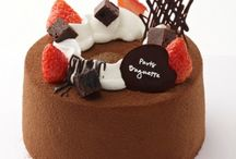 chifon cake decoration