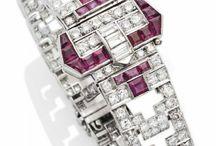 Art Deco Rubies and Diamonds