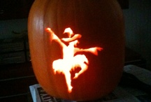 Dance Pumpkin Carving Patterns / Dance pumpkin carving ideas and patterns for Halloween