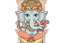 Indian God & Buddha