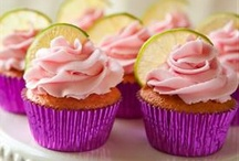 Cakes & Cupcakes / We all have a sweet tooth, I have decided I am all in on the cupcake craze.  The great thing is they are individual servings so it is easy to try many different flavors and easy to share!! / by Ken Bianchi