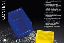 Line Bull / Open fronted bins with very strong structure.  Easily to be placed one upon another.  Made of plastic material guaranteed against fracture and breakage. Resistant to acids, oils, solvents and detergents.
