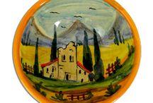Our Tuscan Vista Italian Ceramics
