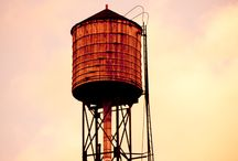 New York Water Towers / The iconic water towers of New York City / by James Maher Photography