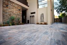 Modern Residential Paving Designs / This board showcases not only the paving products that we offer but modern paving design ideas to complete your home.