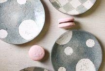 市野太郎 / 丹波焼、陶器、マグカップ、ケーキプレート