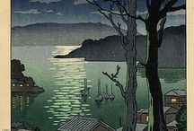 Unsurpassed Japanese art / Japanese paintings , graphics and ceramics.