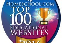 Homeschool.com Top 100 Educational Websites 2016 / by Homeschool.com