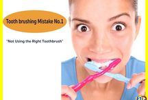 Toothbrushing Mistakes / Know the common mistakes you usually do when tooth brushing and get rid of them