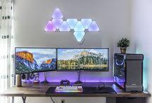 Clean PC Guys Desk