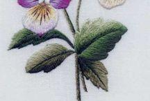 hímzés - növény
