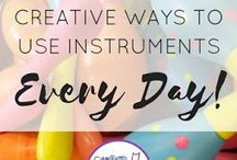 Activities & Lessons with Instruments