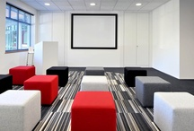Technology in the office / Technology is changing the way we work and as a result, it plays a fundamental role in how we design offices. These are some of our favourite examples of technology in the office.