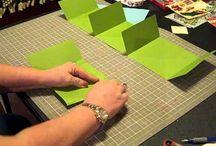 Card stock mini album video