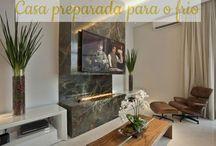 Casa Preparada para o Frio! / Veja + Inspirações e Dicas de decoração no blog!  www.construindominhacasaclean.com