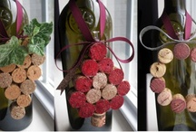 Cork and Wine Bottle Projects / by Teri O'Connor