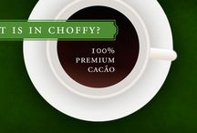 Choffy - Brewed Chocolate Bliss / Did you know you can BREW chocolate? Brewed chocolate has no sugar, no dairy, no fat and only 20 calories & 3 carbs per cup. Choffy is 100% Premium Cacao Beans that have been roasted & ground so can brew a rich, full-flavored drink that delights your senses while it nourishes your body! Find out more on my website at www.blissinacup.com