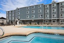 Poolside / Catch some rays or recline and relax at one of our indoor or outdoor pools. Available at select locations.