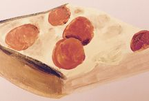 Jet's Pizza Art / Delicious, delectable works of art, all of our favorite subject - Jet's Pizza!