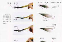 Sumi-e and Calligraphy