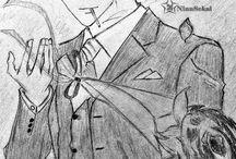 Asami Ryuichi / yaoi, sketch, drawing, manga, yamane ayano, fanart,