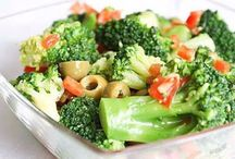 Салаты овощи