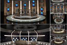 TriCaster Virtual Studio Set