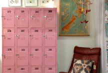 Locker Ideas / Great ways to use lockers! From in the home to in the workplace