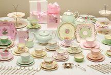 Decor ~ Blissful Teacups & Tableware / by Coralie Jones
