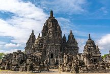 Sewu Temple / Sewu is an eighth century Mahayana Buddhist temple located 800 meters north of Prambanan in Central Java, Indonesia. Candi Sewu is the second largest Buddhist temple complex in Indonesia; Borobudur is the largest.